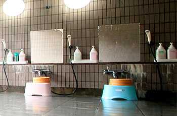 洗い場も充実
